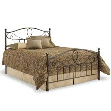 sylvania iron bed in french roast humble abode