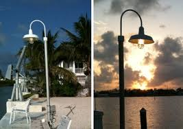 Backyard Light Pole Post Mount Lights Add Finishing Touch To Exterior Lighting Blog