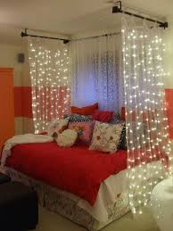 Diy Canopy Bed With Lights Bedroom Diy Light Soft Canopy Bed Decor Bedroom Room Set Ideas