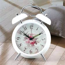 Small Clock For Desk Spectacular Vintage Style Alarm Clocks Design Small Clock Radio