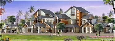 gigantic super luxury floor plan home kerala plans luxury home
