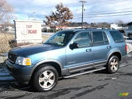 Ford Explorer Colors - 2002 ford explorer xlt 4x4 in medium wedgewood blue metallic