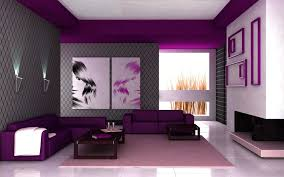 Purple Bedroom Feature Wall - wall colour combination for small bedroom seasons of home schemes