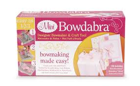 hair bow maker mini bowdabra bow tool easy hair bows maker for small bows