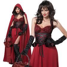 Red Riding Hood Costume Dark Red Riding Hood Costume