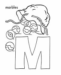 abc alphabet coloring sheets marbles honkingdonkey