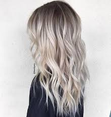 platinum hairstyles with some brown add some root blondes easy and summer