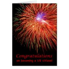 citizenship congratulations card american citizen greeting cards zazzle