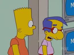 At Least You Tried Meme - bart simpson did your imaginary friend try to kill you milhouse