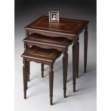 3 piece nesting tables looking for plantation cherry 3 piece nesting tables low price in usa