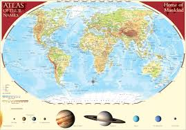 Atlas Map Atlas Of True Names 5000x3498 Mapporn