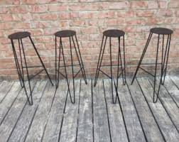 hairpin leg stool etsy