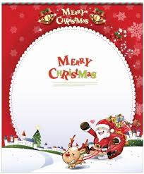 vector card with santa claus free vector in encapsulated