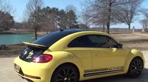 pushing a 2014 volkswagen beetle hd video 2014 volskwagen beetle gsr turbo yellow used for sale