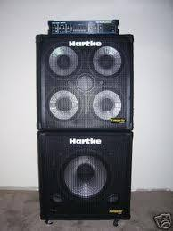 hartke 410xl bass cabinet hartke bass head 410 cab and sub woofer cab bassists and