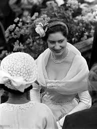 Grenada 1955 Princess Margaret Is Pictured At A Garden Party At