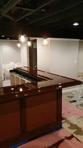 basement bar beginning to end diy basement bar album on imgur