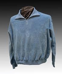 lot detail elvis presley blue velour shirt from u003cem u003egirl happy u003c em u003e