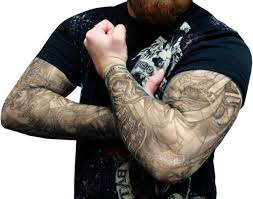 fake arm sleeve tattoos cool tattoos bonbaden