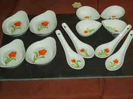porcelaine peinte main plume magicienne peinture chinoise xieyi sur porcelaine verrine