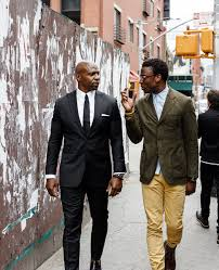 lexus amanda relationships designer ini archibong finds a patron in actor terry crews dwell