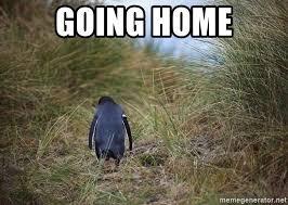 Penguin Meme Generator - going home sad penguin meme generator