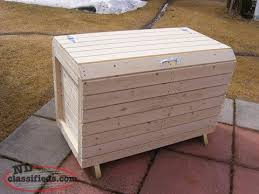 Free Wooden Garbage Box Plans by Garbage Box Hopeall Newfoundland Labrador Nl Classifieds