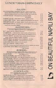 Backyard Restaurant Menu Backyard Burger Menu Musthavemenus Restaurant Ideas