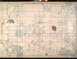 Los Angeles District Map by File Wpa Land Use Survey Map For The City Of Los Angeles Book 3