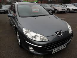 peugeot for sale uk used 2007 peugeot 407 sw se hdi for sale in crawley west sussex
