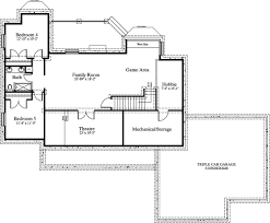 floor plans 2500 square feet colonial house plans 2400 square feet best open floor plans under