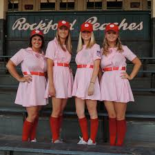 a league of their own costume baseball softball costume ideas view from outside the