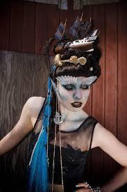 makeup school toronto cthulu the siren inspiring creative hair styling