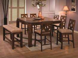 square pub table with storage bar pub tables sets ameillia 7 pc square counter height set