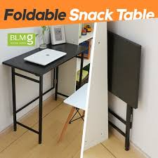 qoo10 folding snack table 100cm compact desk student desk dining