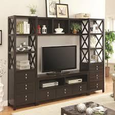 wall units stunning entertainment shelving unit home