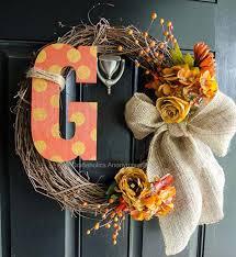 10 ways to make stunning thanksgiving wreaths