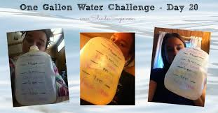 Water Challenge How To Do One Gallon Water Challenge Day 20 Slender