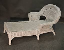 White Wicker Chaise Lounge Clearance White Wicker Chaise Lounge Chair Wicker Patio Furniture
