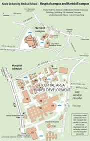 hospital campus keele university