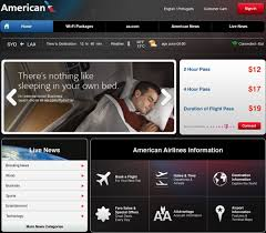 American Airlines Inflight Wifi by American Airlines Boeing 777 Inflight Internet Sydney Los Angeles