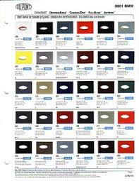 2001 bmw car paint chips dupont and ppg ebay
