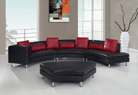 Cheap Red Leather Sofas by 25 Contemporary Curved And Round Sectional Sofas