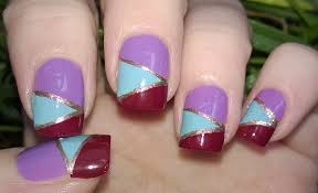 diy mosaic nails without tools easy nail art designs step by
