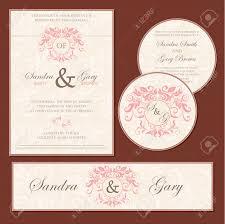 Rsvp On Invitation Card Set Of Wedding Invitation Cards Invitation Thank You Card