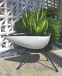 Modern Garden Planters 36 Best Mid Century Pots And Planters Images On Pinterest Plants