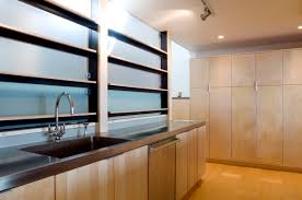 Prefinished Kitchen Cabinets Furniture Contemporary Kitchen Design With Kerf Cabinets For Home