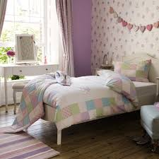 Girls Patchwork Bedding by Clementine Patchwork Bedspread Childrens Bed Linen Linens And
