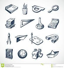 sketch icons stock vector image 40586219