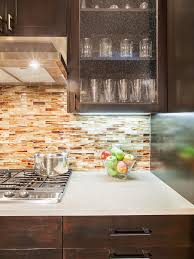 Led Lights For Kitchen Cabinets by Appliances Dark Brown Lacquere Wooden Kitchen Cabinet Mosaic